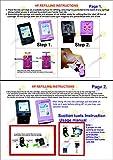 GoColor Premium High Quality Inket Refill Ink for HP DeskJet 1112 2131 2132 2135 2520 2622 2675 2675 3635 3636 3775 3776 3777 3779 Printer & 21 22 46 678 680 702 703 704 802 803 900 Cartridge100 Ml 4 Black Pigment & CMY Dye Ink Bottle with syringe needle Gloves & Napkin