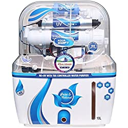 DEAL AQUAGRAND AQUA SWIFT RO+UF+UV+MINERAL+TDS CONTROLLER 10 Ltr ROUVUF Water Purifier