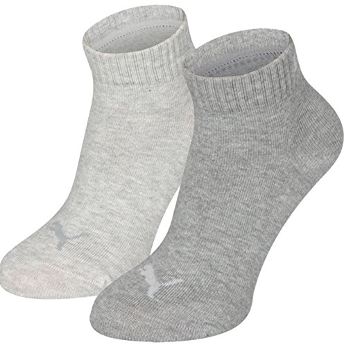 Puma Unisex Children's Quarter Sports Socks (Pack of 2)