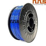 NuNus PLA Filament 1,75mm Made in Europe Premium Qualität in verschiedenen Farben 1Kg Rolle PLA 1,75mm für 3D Drucker, 3D Stift alle gängigen 3D Druckern