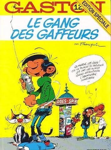 Gaston Lagaffe 12 - Gaston, numéro 12 : Le Gang des
