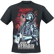 Jimi Hendrix Cosmos T-Shirt schwarz