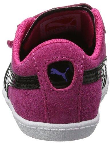 Puma Glyde Lo V Kids, Baskets mode bébé fille Rose (Beetroot Purple/Black)