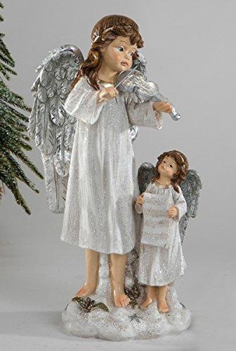 Deko engelgruppe 32 cm (crème)