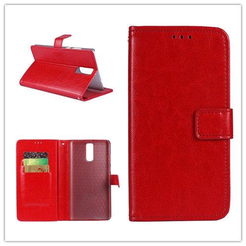 Funda® Flip Brieftasche Hülle für TP-Link Neffos X1 Lite(Muster 3)