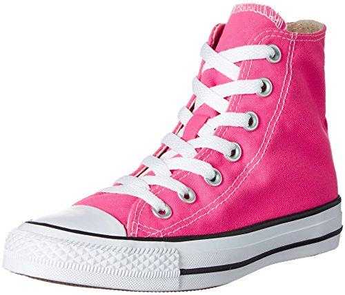 ConverseChuck Taylor All Star - Zapatillas altas Unisex adulto , color rosa, talla 39 EU