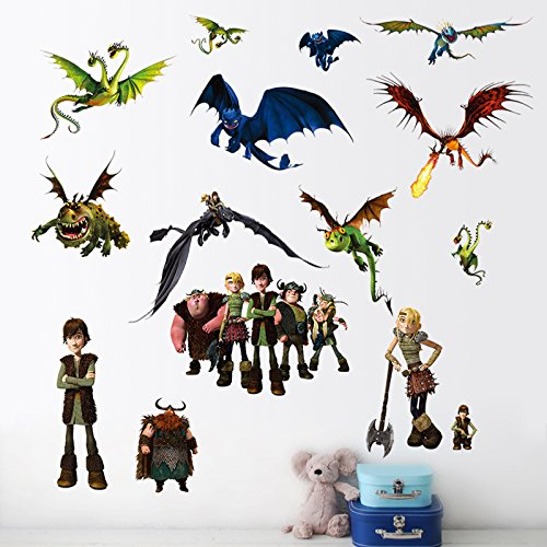 How to train your dragon Wandsticker