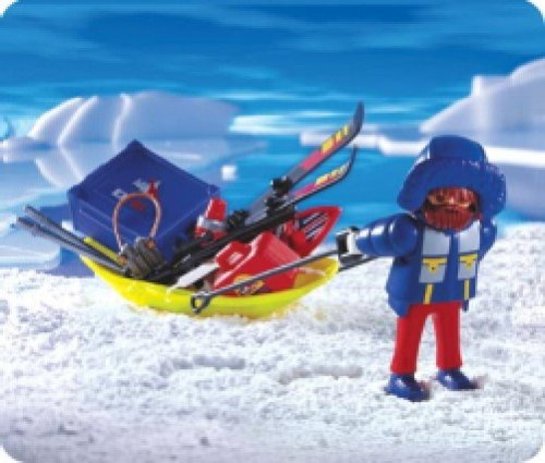 Playmobil 3194 Explorador Polar Carro Transporte