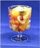 50 Einweg Weingläser 200ml glasklar einteilig mit Füllstrich 0,2 l Weinglas - Weinbecher / von EVENTpac ®