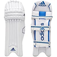 adidas Libro 4.0 Junior - Bloc de bateo de críquet, color blanco, negro y azul, tamaño LHY