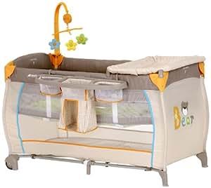 hauck babycenter travel cot bear baby. Black Bedroom Furniture Sets. Home Design Ideas