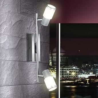 10 Watt LED Deckenstrahler Deckenlampe Strahler Wandlampe Beleuchtung Globo 56031-2