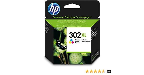 Hp 302 X L High Yield Tri Color Original Ink Cartridge For Printers Cyan Magenta Yellow High 8 Ml 20 80 40 60 C 15 32 C Bürobedarf Schreibwaren