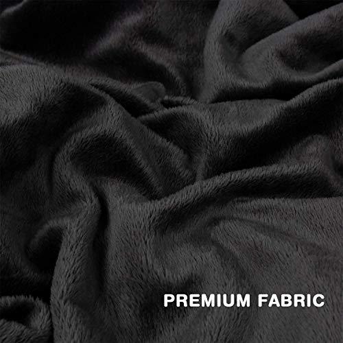 Zoom IMG-3 allisandro coperta nera per cani