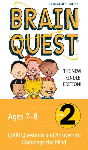 Brain Quest Grade 2 Revised 4th Edition 1 000 Questions And Answers To Challenge The Mind