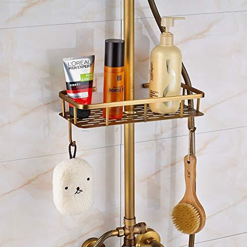 Zoom IMG-1 rubinetto doccia in ottone anticato