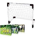 Demiawaking Porta da Calcio Rete da Calcio per Allenamento Strumento di Allenamento per Il Calcio (120x80 cm)