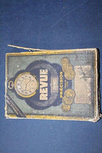 Unbekannt Schachtel Revue Original Antike Uhrenbox für Taschenuhr Etui ~1900 Rekalme Uhren