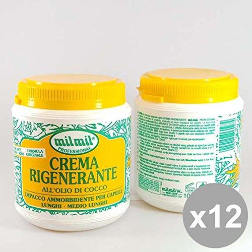 Set 12 MIL MIL Crema Capelli 1L Cocco Prodotti per capelli