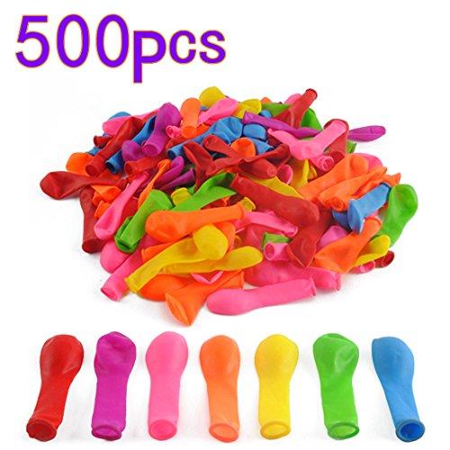 BOROK 500 Stück Balloon Wasserbomben Selbstschließend Schnellfüller Wasserbombe Spielzeug Schnellfüller Wasserballons Luftballons