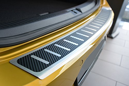 V-Protect Ladekantenschutz Stoßstangenschutz Lackschutz AluSchutz mit Abkantung 3D Carbon auf AluNox® (1312-507)