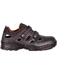 Cofra - Chaussures De Protection Homme Noir Noir En Cuir, Couleur Noir, Taille 46