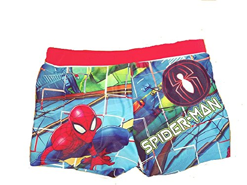 Spider-Man Boy/'s Swimming Shorts Age 3 /& 4 Years