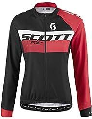 Scott RC AS Damen Winter Fahrrad Trikot schwarz/pink 2017