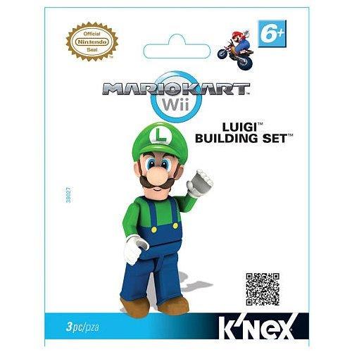 Mario Kart Wii KNEX Building Set #38027 Luigi by Nintendo (English Manual) (Luigi Kart Knex)