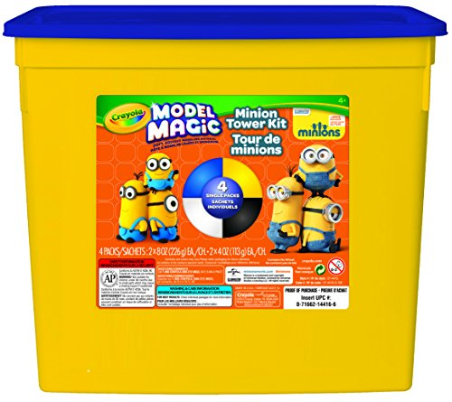 Crayola 1.5 lb. Minion Tower Build Model Magic Tub by Crayola -