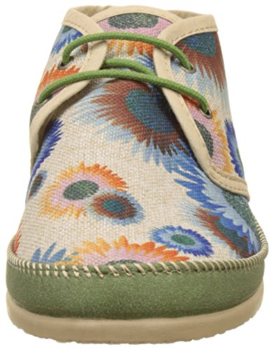 Ippon Vintage Smile-Wind, Polacchine Donna Multicolore (Flowers)