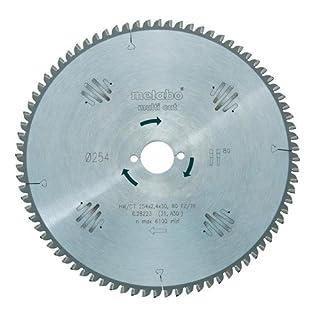 Metabo 628223000 80FZ/TZ HW/CT Circular Saw-Blade, Green, 254 x 30 mm