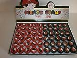 6 Piraten Stempel Mitgebsel Kindergeburtstag Tombola Give Away