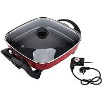 Jadpes Batterie de Cuisine électrique pour marmite en Pot, 5L Multifonctionnelle antiadhésive Marmite Faire Cuire…