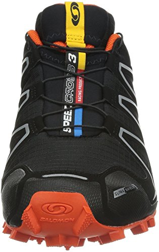 Salomon Speedcross 3 CS, Scarpe sportive, Uomo Black/Black/OR
