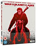 War for The Planet Of The Apes Steelbook 4K Ultra HD (War of The Planet Of The Apes) Uk Exclusive Limited Edition Bluray Region Free Available now !!