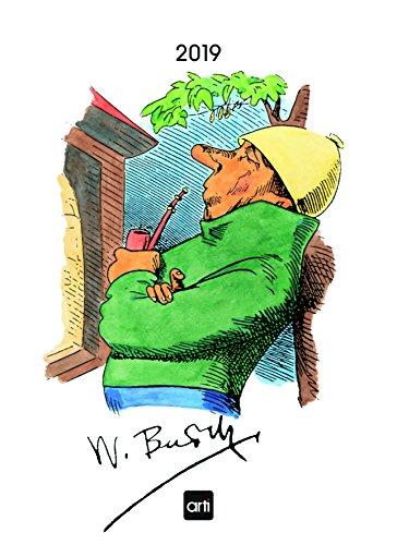 (Wilhelm Busch 2019 - Bilderkalender, Cartoonkalender, Sprüchekalender, Humorkalender  -  24 x 33 cm)