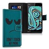 kwmobile Hülle für Wiko Rainbow Jam - Wallet Case Handy