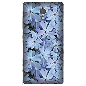 Skintice Designer Back Cover with direct 3D sublimation printing for Lenovo P2