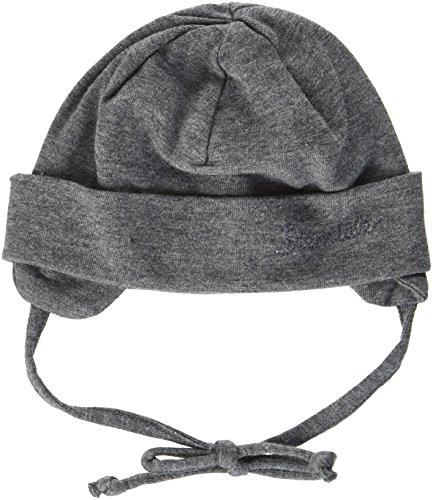 Sterntaler Baby-Jungen Mütze Beanie Grau (Asphalt 574)