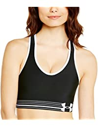 Under Armour Mid Brassière de sport Femme Orange