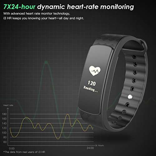 Smart-Bracelet-Heart-Rate-Monitor-Smart-Fitness-Activity-Pedometer-Wristband-Sleep-Tracker-096-OLED-Touch-Screen-Waterproof-Smartwatch-for-Android-and-iOS-Smart-Phones-Such-as-iPhone-77-Plus6s66-Plus5