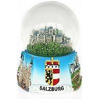 Recuerdo Globo de nieve Salzburg 65mm de diámetro
