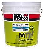 Marcotherm Rustique 25 kg blanc San Marco revêtement...