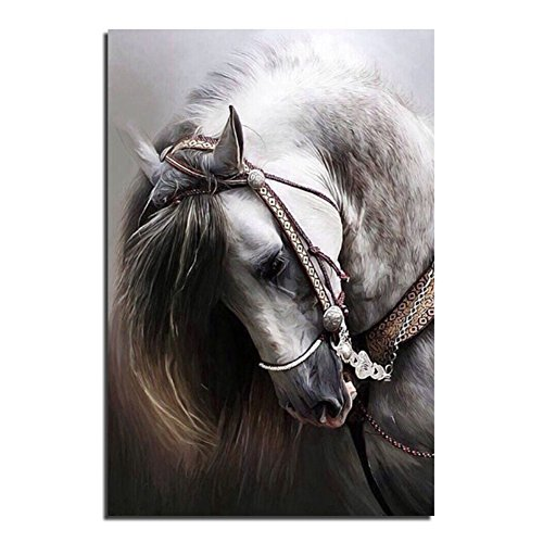 Preisvergleich Produktbild Home Decor 5D DIY Diamant Gemälde Pferde Stickerei Kreuzstich Crafts Luxus Wand modern art Stil Malerei