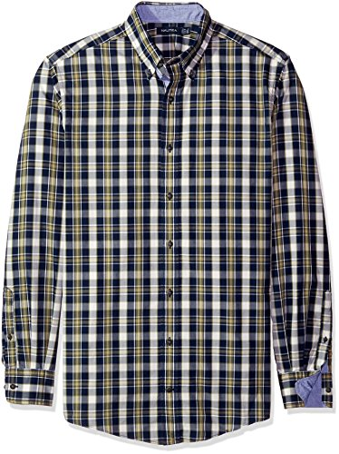 nautica-mens-big-and-tall-cord-plaid-shirt-marine-blue-2xl