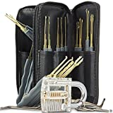 Geepro Profi Lockpicking Set 24-teiliges Pick-Set Dietriche Kit