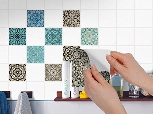 Piastrelle murali adesive mosaico stickers da parete auto