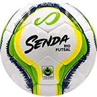 Senda Athletics Rio Training Balón de Fútbol Sala, Unisex-Adult, Verde, Talla 4