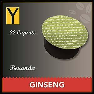 32 CAPSULE GINSENG compatibili per NESCAFE DOLCE GUSTO